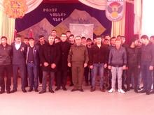 Հանդիպում Ապրիլյան պատերազմի մասնակիցների հետ
