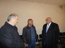 Դավիթ Լոքյանը եւ Գաբրիել Գյոզալյանը այցելեցին Թալինի տարածաշրջան