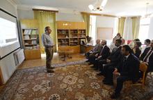 Նախագահ Սերժ Սարգսյանն այսօր առավոտյան աշխատանքային այցով այցելել  է Արագածոտնի մարզ