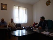 Կայացավ մարզպետի հանդիպումը Թալինի տարածաշրջանի մի խումբ համայնքապետերի  հետ