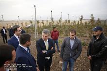 Կարեն Կարապետյանն Արագածոտնի մարզում ծանոթացել է մի շարք ներդրումային ծրագրերի ընթացքին
