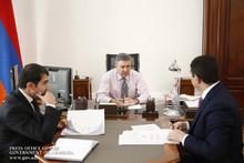 Արագածոտնի մարզպետը վարչապետին է ներկայացրել հանձնարարականների կատարման ընթացքը