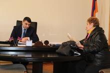 Մարզպետ Աշոտ Սիմոնյանի մոտ կայացավ քաղաքացիների հերթական ընդունելությունը