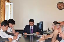 Մարզպետ Աշոտ Սիմոնյանը հրավիրեց աշխատանքային առաջին խորհրդակցությունը