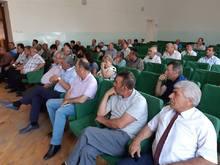 Հանդիպում Թալինի տարածաշրջանի համայնքապետերի հետ