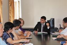 Արագածոտնի մարզպետ Աշոտ Սիմոնյանի մոտ կայացավ աշխատանքային խորհրդակցություն