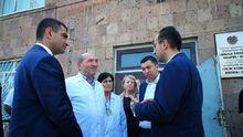 ՀՀ առողջապահության նախարար Արսեն Թորոսյանը աշխատանքային հանդիպումներ  է ունեցել Արագածոտնի  բուժհաստատություններում