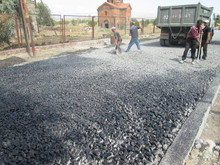 Սուբվենցիոն ծրագրով ասֆալտապատվել են Թալին քաղաքի փողոցները