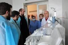 «Հայ-ամերիկյան բժշկական առաքելություն» ծրագրի շրջանակներում «Աշտարակի բժշկական կենտրոն» ՓԲԸ-ին  նվիրաբերվել է սառնարան և ախտորոշիչ լաբորատոր սարքավորում