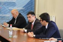 Վաչե Տերտերյանը «Մաքուր Հայաստան» գործողությունների ծրագրի իրականացման միջգերատեսչական հանձնաժողովի նիստ է անցկացրել