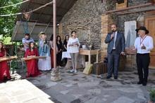 Արագածոտնի մարզի Տեղեր համայնքում կայացել է Արվեստի միջազգային փառատոն