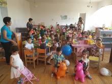 Արագածոտնի մանկապարտեզներին հատկացվել են դաշնամուր, մանկական խաղեր, խաղալիքներ