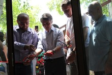 Արագածոտնի մարզի Բյուրական համայնքում բացվեցին «Բյուրական ստուդիոն» և «Մնացականյան գաստրո բակը»