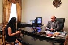 Մարզպետ Դավիթ Գևորգյանի մոտ կայացել է քաղաքացիների ընդունելություն