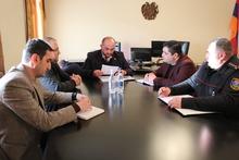 Տեղի է ունեցել Արագածոտնի մարզի զորակոչային հանձնաժողովի նիստ