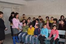 Աղետների ռիսկի նվազեցման ծրագրի միջոցով երեխաներին ուսուցանվում են աղետներին դիմակայելու հմտություններ