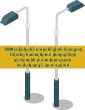 2020 թվականի սուբվենցիոն ծրագրով Ակունք համայնքում փողոցների գիշերային լուսավորության համակարգ է կառուցվում